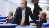 Депутатът от БСП Драгомир Стойнев е с COVID-19