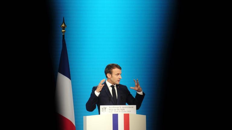 Президентът на Франция Еманюел Макрон предупреди Великобритания, че Брекзит е