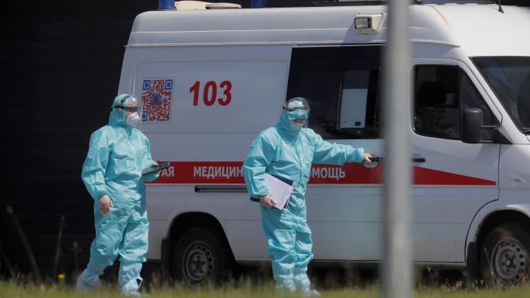 Русия с пореден черен рекорд за починали от COVID-19
