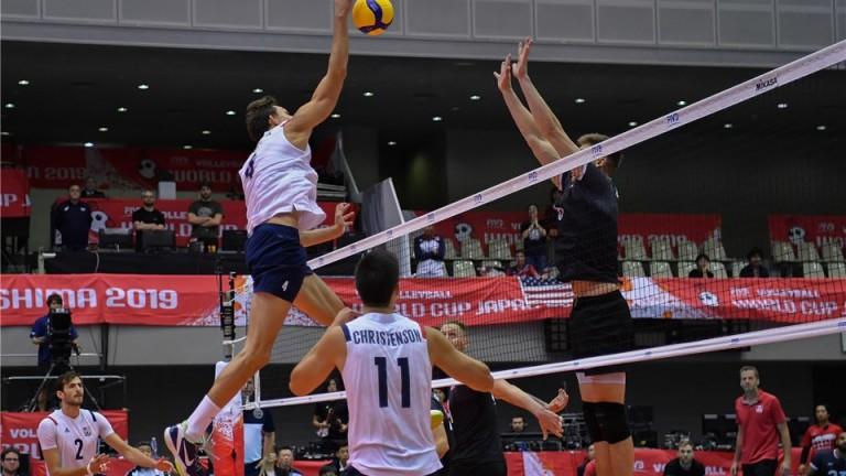 Волейболистите на САЩ и Канада изиграха най-интересни мач от осмия