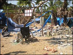 64 цивилни загинаха при обстрел на болница в Шри Ланка
