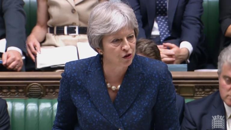 Парламентът във Великобритания отново подкрепи Тереза Мей за Брекзит