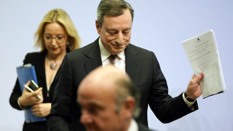 ЕЦБ предупреди, че търговските заплахи на САЩ пречат на Европа