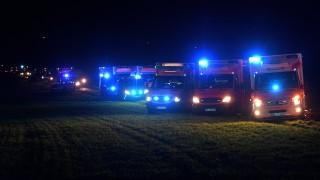 Повече от 50 ранени при катастрофа в Германия
