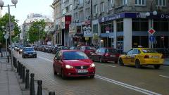 Промени в движението в София за заснемане на рекламен клип