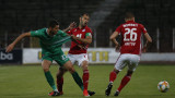 ЦСКА - Берое 2:0, голове на Евандро и Антов