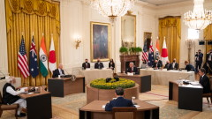 Суга: Япония, САЩ, Индия и Австралия си сътрудничат за ваксините, чистата енергия и космоса