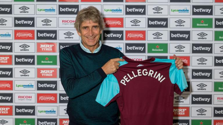 Мануел Пелегрини е новият мениджър на Уест Хем Юнайтед. Чилийският