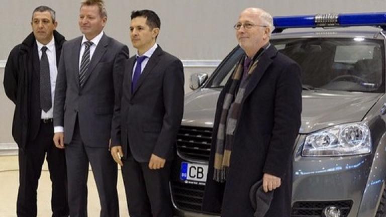 Граничарите ни получиха 12 високопроходими автомобила от Германия