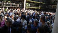 Половин милион лева дава Борисов за ремонт на Троянския манастир