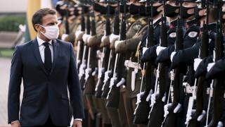 Макрон обеща помощ на Тихановская за Беларус