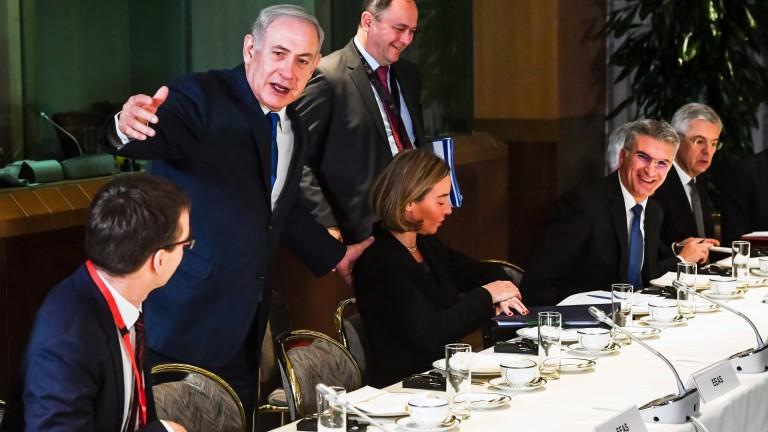 Нетаняху заяви на ЕС: Спрете да угаждате на палестинците - Тръмп им казва истината
