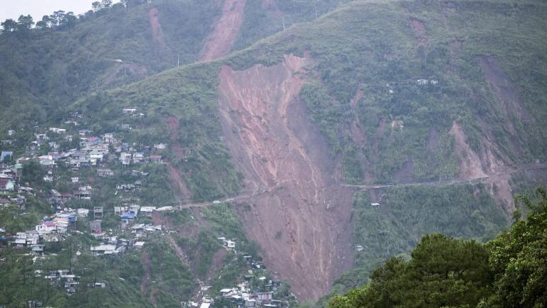 Броят на загиналите от тайфуна
