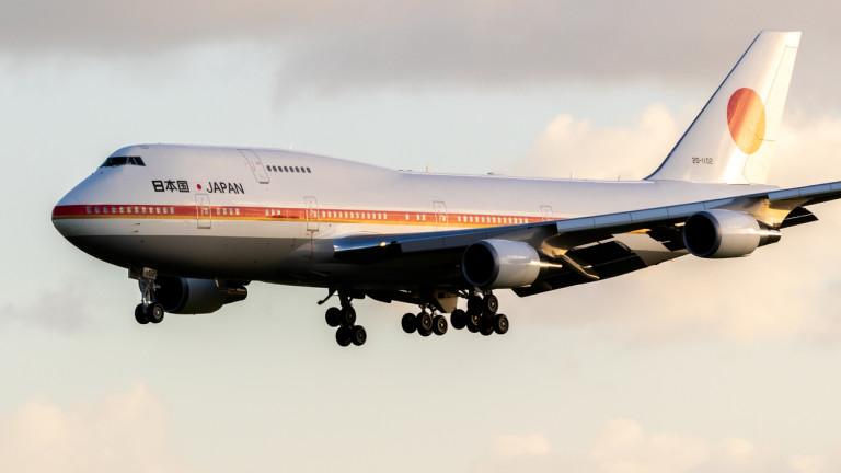 Самолетът, на който са се возили император и 14 премиера на Япония, се продава
