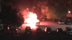 "Две коли изгоряха в столичния ""Младост 2"""