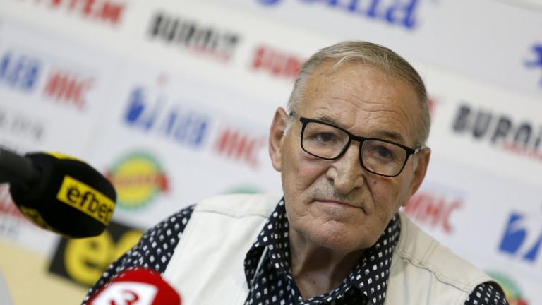 Димитър Пенев за Гриша Ганчев: Никакво тръгване