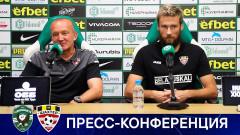 Григорчук: Не сме на нивото на Лудогорец