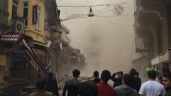 5-етажна сграда се срути в центъра на Истанбул