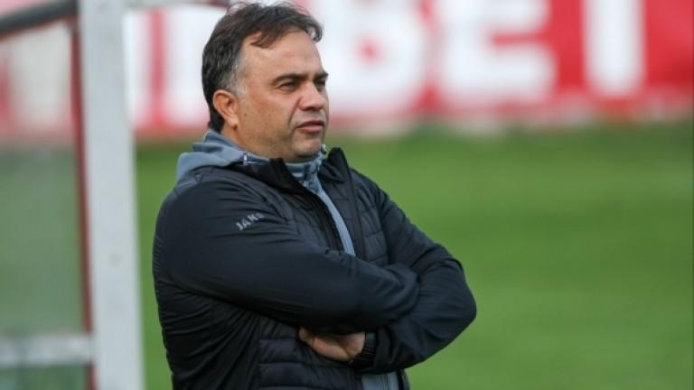 Николай Митов: Стана интересен мач, приемам резултата за нормален
