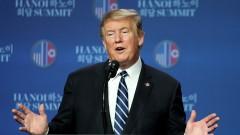 Тръмп дари заплатата си за вътрешната сигурност на САЩ