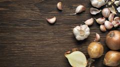 Лукът, чесънът и ползите за здравето ни