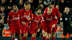 Ливърпул продължава с шампионското си темпо в Премиър лийг