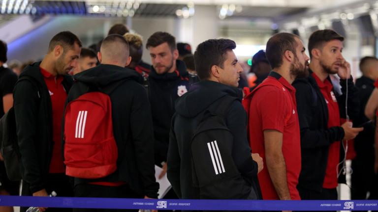 ЦСКА замина на лагер в Австрия.