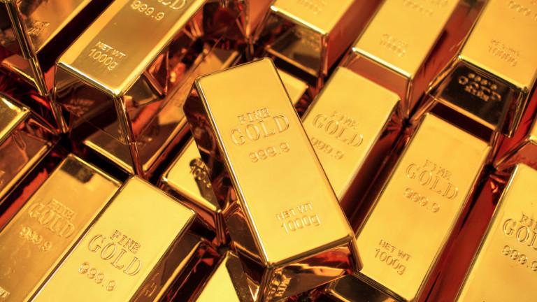 Златото се запъти към най-високото си ниво от 2012 година досега