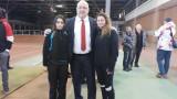 Министър Кралев даде старт на ремонта в залата за лека атлетика в Добрич