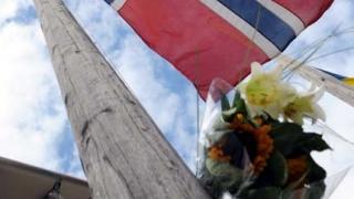 Книга за съболезнования в посолството на Норвегия