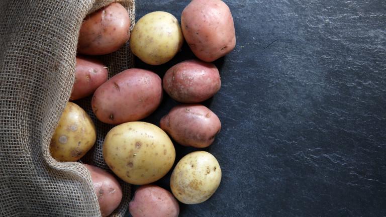 Къде дават 400 евро за килограм картофи