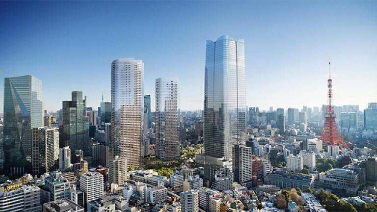 Досега най-високата сграда, която може да бъде видяна в Япония,