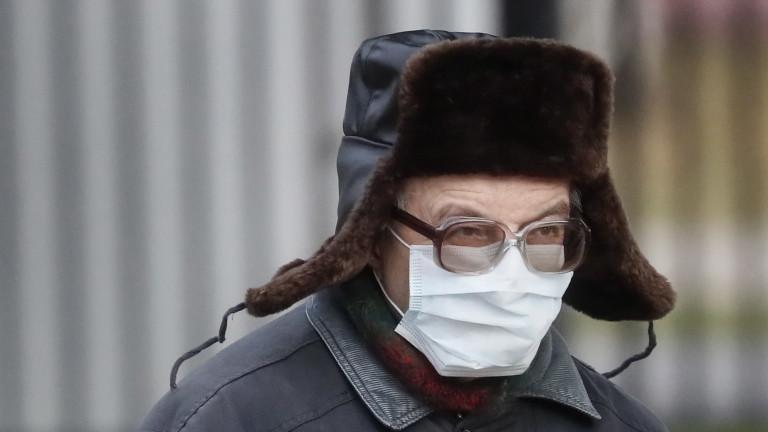 Броят на заразените с новия коронавирус (COVID-19) в Русия през