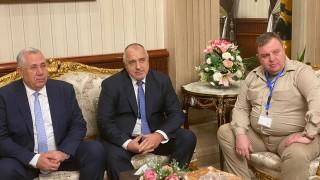 """Борисов и Каракачанов пътуват към база """"Бернис"""" в Египет"""
