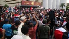 Протестиращите шиити в Багдад напуснаха временно Зелената зона