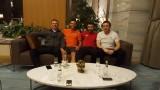 Жуниор Мораеш се видя с приятелите си Младенов, Нанков и... Тошкито Янчев