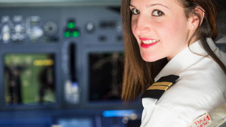 Ако пътувате с тези авиокомпании, има голям шанс пилотът ви да е жена