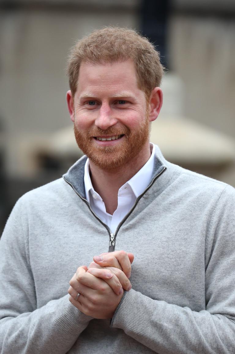 Развълнуваният принц Хари обяви голямата новина