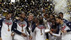 """САЩ смаза Сърбия и остана на """"трона"""" в баскетбола"""