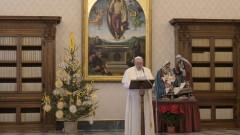 Папата натъжен от егоизма на хората по време на пандемия