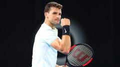 Григор Димитров е №3 в схемата на Australian Open