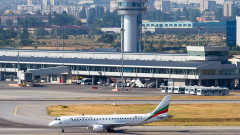 Сбиване на пътници приземи аварийно самолет на Летище София