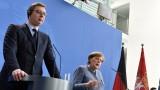 Косово и Сърбия трябва да изгубят по нещо, обяви Вучич пред Меркел
