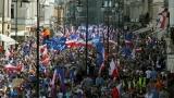 Хиляди поляци протестираха срещу законодателната политика на управляващите