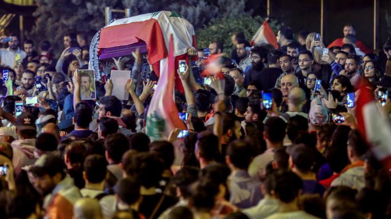 Продължават протестите в Ливан. Демонстрациите избухнаха отново заради забавянето в