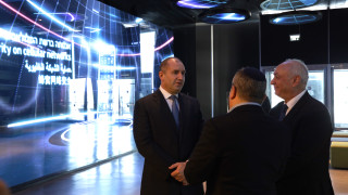 Радев иска България да се поучи от Израел на добро управление на води