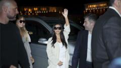 Ким Кардашиян пристигна в Армения