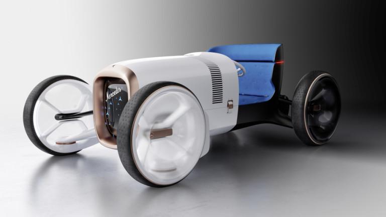 Футуристичният Mercedes Simplex, който идва от миналото