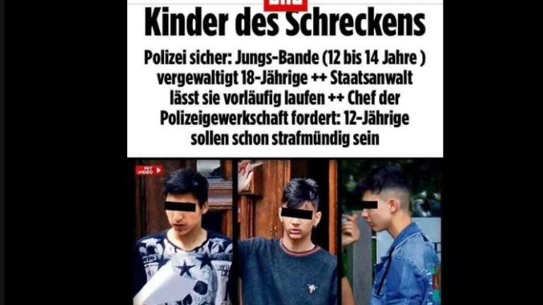 Снимка: Джамбазки изригна за българските цигани, изнасилили млада жена в Германия