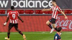 Атлетик обърна Севиля след два късни гола